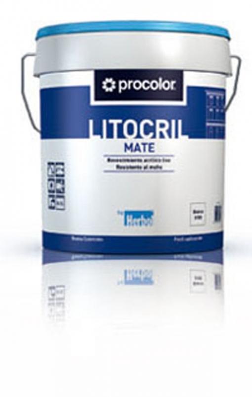 Pintura Fachadas Color Terracota - Litocril - 316010331 - 4 L