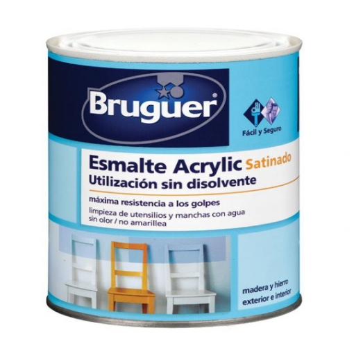 Esm Acrylic Sat Verde Galicia - Bruguer - 5160672 - 250 Ml