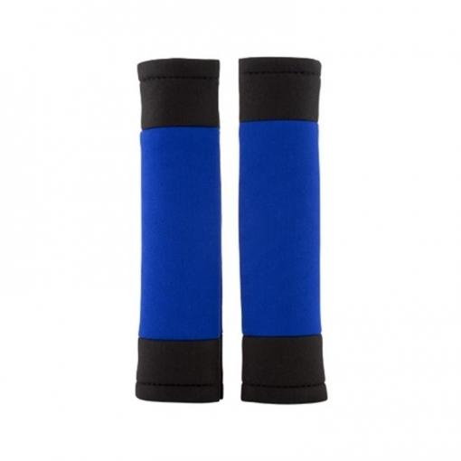 Juego 2 Almohadillas Cinturón Coche Adv Azul