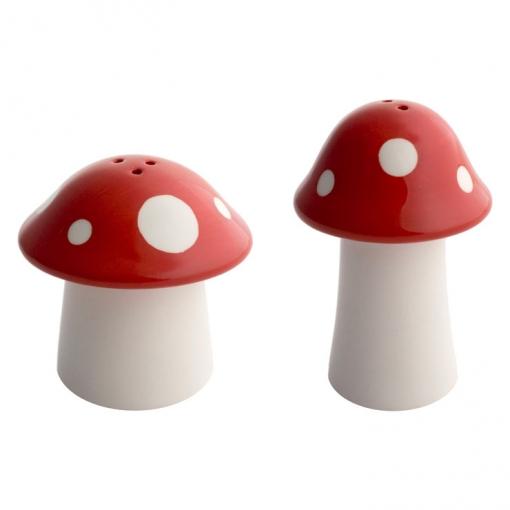 Balvi - Set Sal+pimienta Mushroom Cerámica