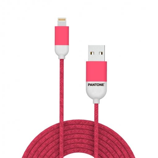 b2dbb1becba Balvi Cable Lightning Usb 1m Pantone Color Rosa Para Iphone,ipad,ipod  Certificación Mfi