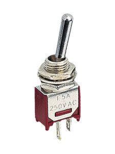 Interruptor Conmutador Unipolar Miniatura A Palanca De 3 Terminales Con Epoxy Electro Dh 11.438.c 8430552061457