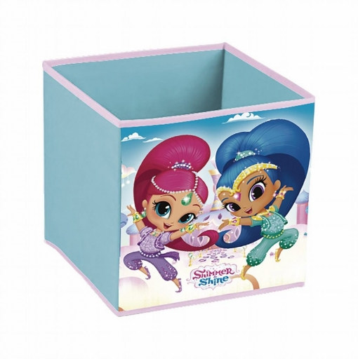 Cubo Contenedor De Shimmer And Shine