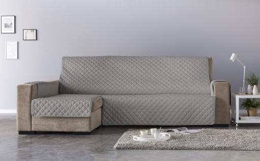 Salva Chaisse Longue Acolchado Extra De 290 Cms Para Lado Izquierdo Color Blanco / Lado Derecho Color Taupé