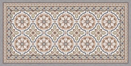 Alfombra De Vinilo Tanger.216 Color 01 - 50 X 140 X 0.2 Cm