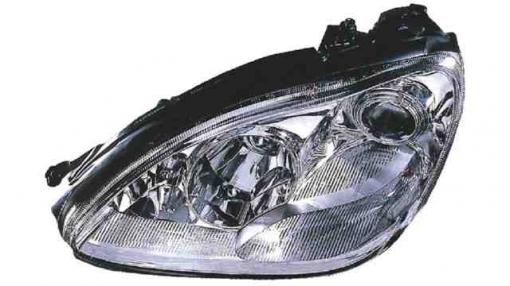 Mercedes  W220  S Class  (02->05) Izquierdo-faro Principal-eléctrico-con Motor-transparente     H7+h7+h7