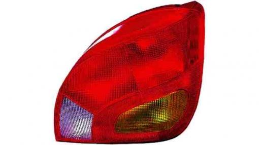 Ford  Fiesta Mk4  (96->99) Izquierdo-piloto Trasero-sin Portalámparas-ambar-rojo