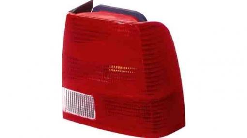 Vw  Passat  (b5)  Sedan 4p  (96->00) Derecho-piloto Trasero-sin Portalámparas-blanco-rojo