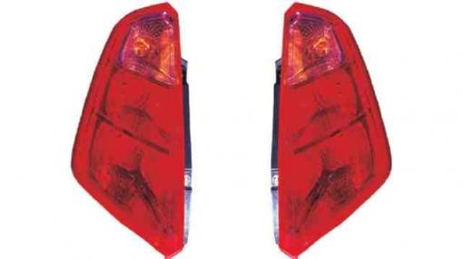 Fiat  Grande Punto  (05->09) Izquierdo-piloto Trasero-sin Portalámparas-rosa-rojo