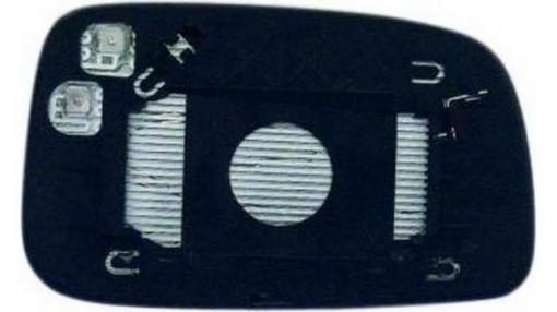 Toyota Avensis (03=>06)izquierdo-cristal + Base-con Vexo-térmico Soporte Redondo