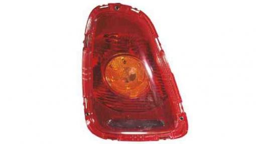 Mini  (07->09) Derecho-piloto Trasero-con Portalámparas-ambar-rojo Cooper S / Cooper One  Cooper S / Cooper One