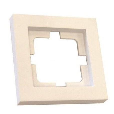 Marco Para 1 Elemento Empotrable Blanco Gsc