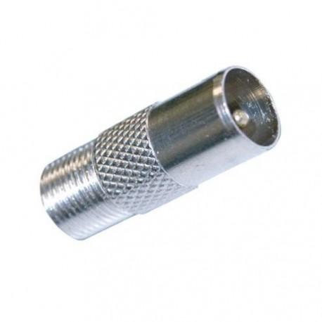 Adaptador Conector Macho Tv A F Hembra Gsc 2601353