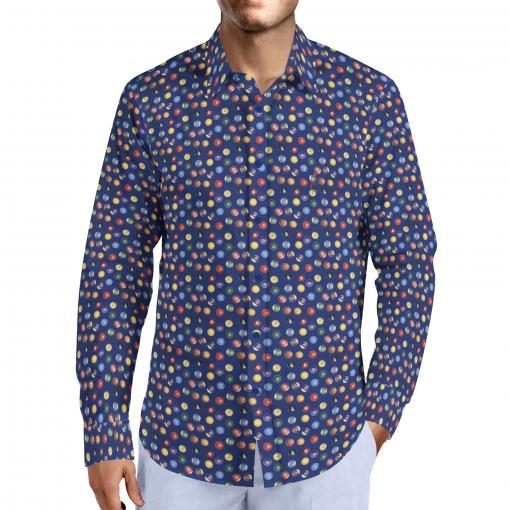 Camisa Hombre Billar Talla M