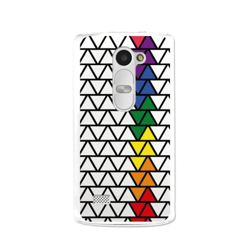 Funda Gel Lg Leon Becool Bandera Gay