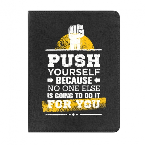 Funda Tablet Tipo Libro 360 Grados Para Samsung Galaxy Tab 3 Lite 7.0 Push Yourself - Becool®