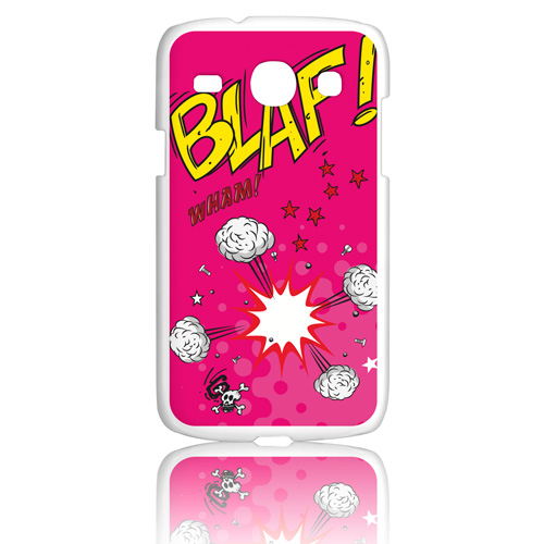 Funda Gel Samsung Galaxy Core Prime Becool Comic Style Blaf