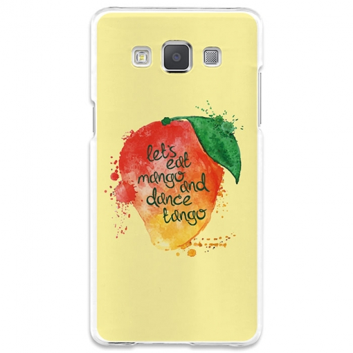 Funda Gel Samsung Galaxy A5 Becool Eat Mango And Dance Tango