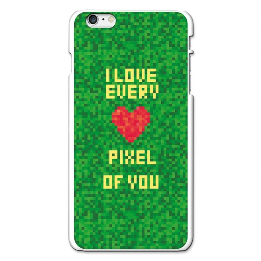 Funda Gel Iphone 6 Plus Becool I Love Every Pixel Of You