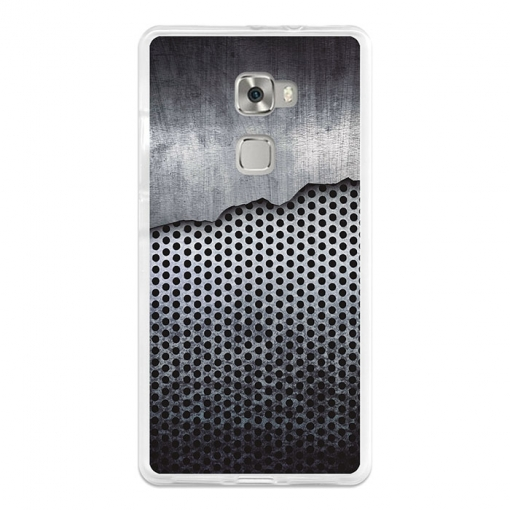 Funda Gel Huawei Mate S Becool Malla De Metal