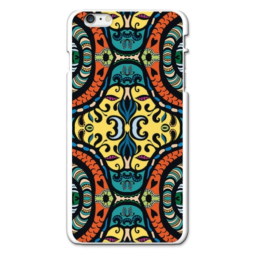 Funda Gel Iphone 6s Plus & 6 Plus Becool Deep Lemon Pattern