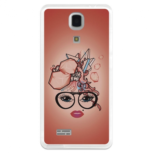 Funda Gel Zopo Color C Zp330 Becool Corte De Pelo Abstracto