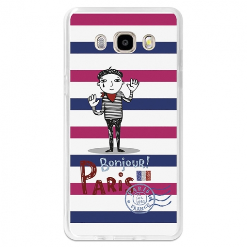 Funda Gel Flexible Tpu Para Samsung Galaxy J5 2016 Postal Con Mimo - Becool®