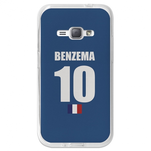 Funda Gel Flexible Tpu Para Samsung Galaxy J1 2016 Benzema - Becool®