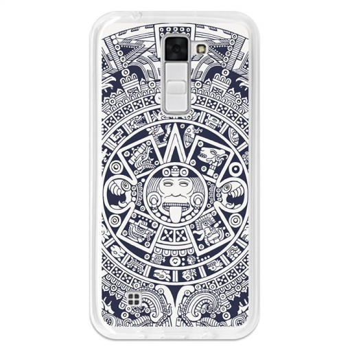 Funda Gel Flexible Tpu Para Lg K7 Azteca Calendario - Becool®