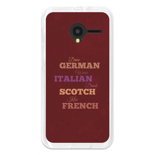Funda Gel Flexible Tpu Para Orange Dive 50 Drive German, Wear Italian - Becool®