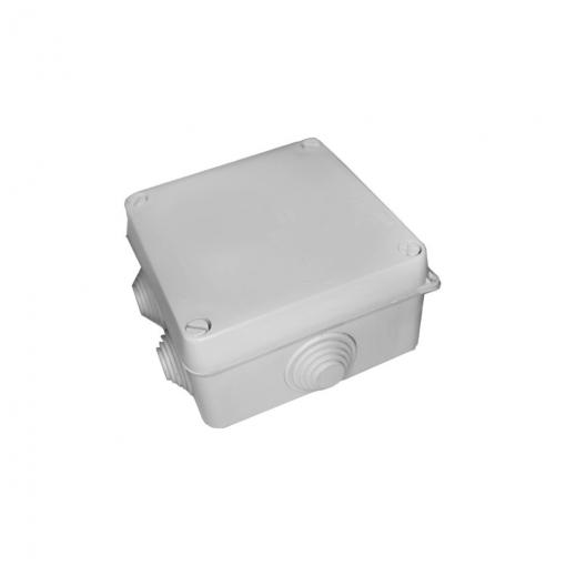 Caja Estanca Rectangular 153x110x65 Con Tornillos Retractilada