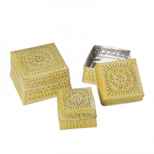 Set Cajas Amarillo
