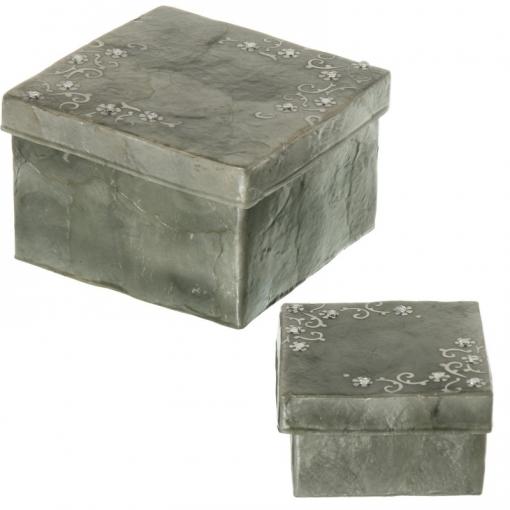 Set 2 Cajas Nácar
