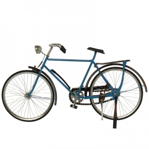 Figura Bicicleta Azul