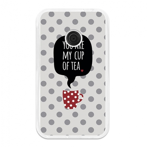Funda Gel Flexible Tpu Para Vodafone Smart First 7 You Are My Cup Of Tea - Becool®