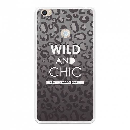 Funda Gel Flexible Tpu Para Xiaomi Mi Max Wild And Chic - Becool®