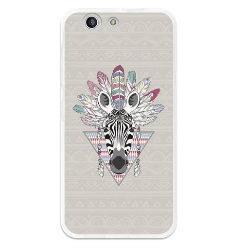 Funda Gel Flexible Tpu Para Zte Blade A512 Cebra Azteca - Becool®