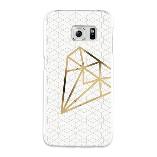 Funda Gel Flexible Tpu Para Samsung Galaxy S6 Edge Diamante - Becool®