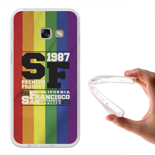 Becool® - Fundas Gel San Francisco Para Samsung Galaxy A3 2017