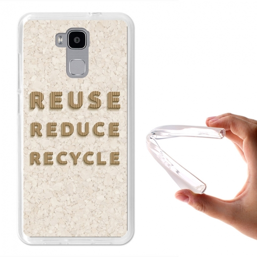 Becool ® - Funda Gel Reusa, Reduce, Recicla Para Doogee Y6 4g