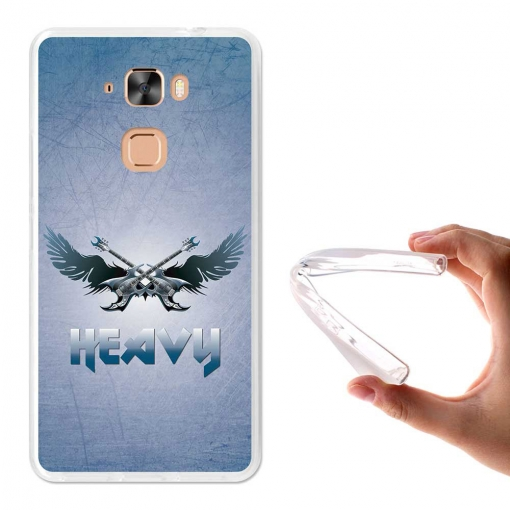 Becool ® - Funda Gel Música Heavy Metal Para Hisense E76