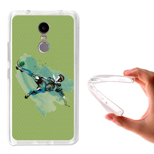 Becool ® - Funda Gel Fútbol Chilena Para Lenovo K6 Note