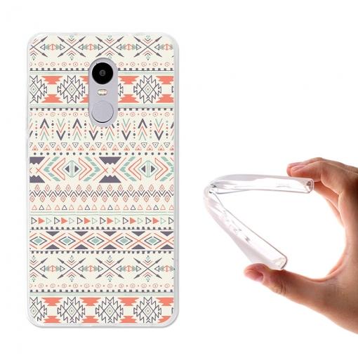 Becool ® - Funda Gel Tribal Azteca Amarillo Para Xiaomi Redmi Note ...