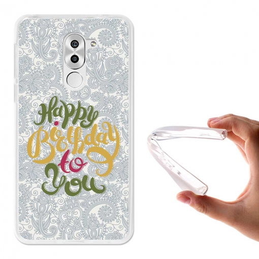 Becool ® - Funda Gel Felicidades Para Huawei Honor 6x