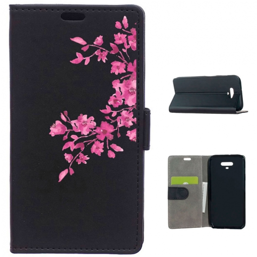 Becool® - Funda Libro Flores Rosas Para Huawei Honor Magic