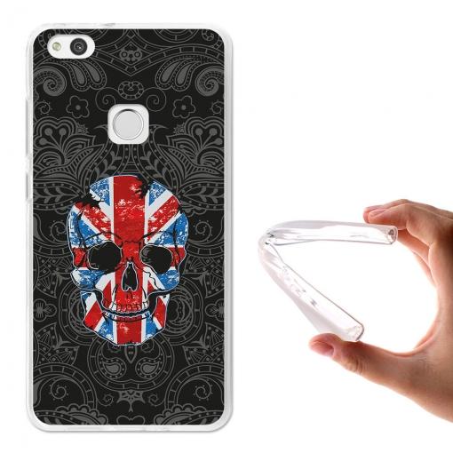 Becool ® - Funda Gel Calavera Union Jack Para Huawei P10 Lite | Las ...