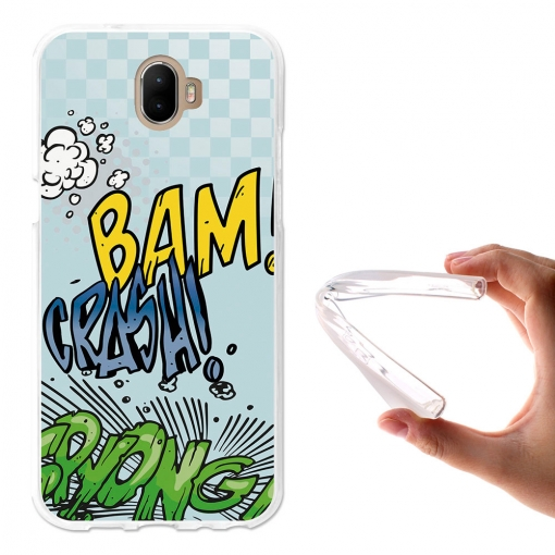 Becool ® - Funda Gel Comic Style Crash Para Wiko Wim