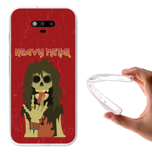 Becool ® - Funda Gel Los Viejos Rockeros Nunca Mueren Para Huawei Honor Magic