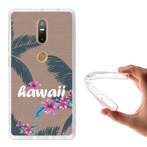 Becool® - Fundas Gel Hawaii Para Lenovo Phab 2 Plus