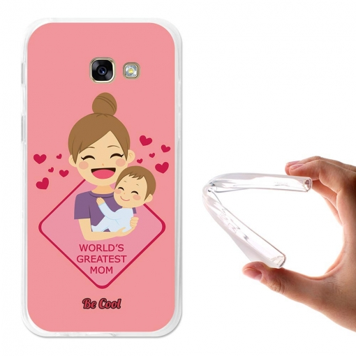 Funda Gel Para Samsung Galaxy A5 2017 Regalos Para Madres Greatest Mom Rosa - Becool®